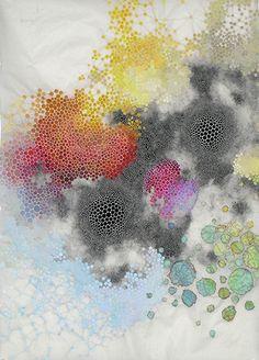 love her work - Karen Margolis - mixed media artist