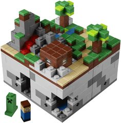 Lego + Minecraft = AWESOME. I want about a hundred of these sets in a giant ball pit on the floor.