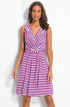 Bobeau Stripe Jersey Dress   Nordstrom - StyleSays