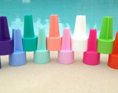 4 BLANK Beach Spiker Cupholders
