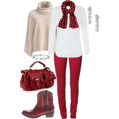 """""""Dots!"""" by maggie-johnston on Polyvore"""