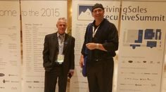 Tom LaPointe and Jeff Sterns at DrivingSales Executive Summit 2015 in Las Vegas  #dses