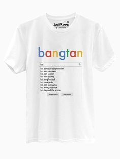 BTS Search Tee is part of Bts clothing - Bts Boys, Bts Bangtan Boy, Bts Jimin, Blusas Do Bts, Bts Search, Camisa Bts, Mode Kpop, Bts Shirt, Bts Clothing