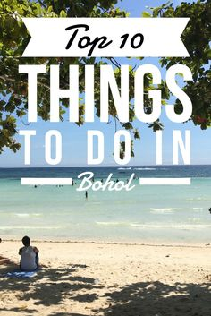 Things to do in Bohol, Philippines