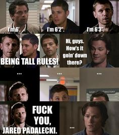Supernatural | . I want him... He's larger! Lol my favorite line from the entire series