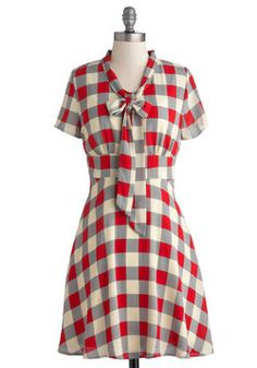 Think Out Laud Dress, #ModCloth i love this neckline