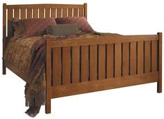 Shop for Stickley Slat Bed Queen, and other Bedroom Beds at Paul Schatz Furniture in Tigard Bed Frame, Stickley Furniture, Bed, Furniture, Fine Furniture, Cool Furniture, Bed Slats, Bedroom Furniture, Youth Furniture
