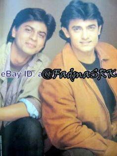 Shahrukh and Aamir Khan Aamir Khan, Im Sad, Best Actor, Make Me Smile, I Laughed, Bollywood, Films, Romance, Husband