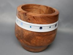 Handmade Wooden Bowl Made of Red Gum Wood with by Colemancrafts