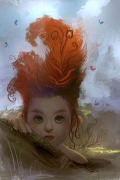 mermaid by Rwrenee