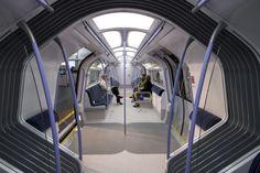 London Subway Transport Train Interior Sci Fi