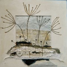 'The frost at dawn'   by Louise O'Hara of DrawntoStitch www.drawntostitch.com