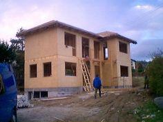 Dom szkieletowy - konstrukcja budynku z drewna KVH
