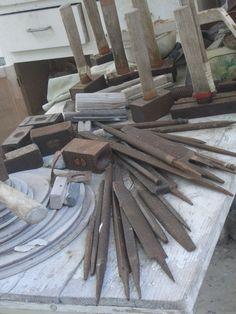 [Picture: Barbara Hepworth Musem & Sculpture Gallery 7: sculptor's tools]