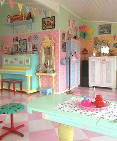 home decor ideas Girls Bedroom, Bedroom Decor, Pastel Room, Pastel Decor, Pastel Kitchen, Kawaii Room, Aesthetic Room Decor, Dream Rooms, Cool Rooms