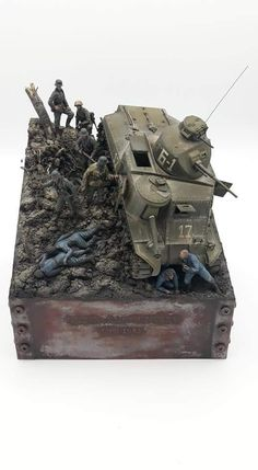 Scale Art, Ww2 Photos, Model Tanks, Star Wars Pictures, Military Modelling, Cool Art Projects, Plastic Models, Scale Models, Military Vehicles