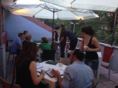 #AIC2014 #cenaconlettura #comitatodiriqualificazioneurbana #borgovecchiocampidoglio #studioadorno