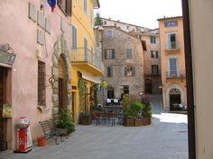 I loved Montone Italy.