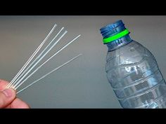 How to make STRAWS from PLASTIC BOTTLES ! Be sure to share it! - YouTube