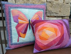 Bloom Quilted Throw Pillow Case