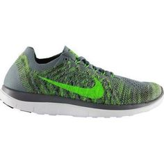 hot sales eb0ce e7733 Nike Performance Free 4.0 Flyknit Chaussures Pas Cher de course neutres  cool, Homme, Gris, Taille  42