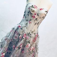 RSE865 Printed Evening Long Gown Vintage Boned Corset Sweetheart Neckline Flower Vestido Formatura-in Prom Dresses from Weddings & Events on Aliexpress.com | Alibaba Group