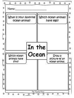 In the Ocean- Emergent Reader