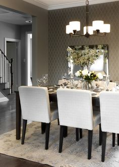 15 Adorable Contemporary Dining Room Designs