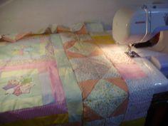 Patchwork made in Argentina: Algunas ideas........... Realizando una mesa de Quilt reciclando un material de embalaje.