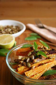 Thai curry carrot salad