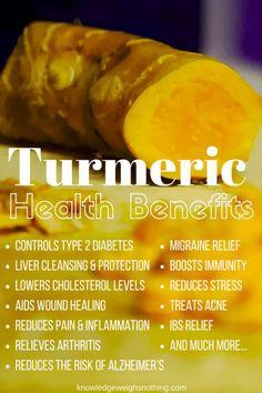 Turmeric Tea Benefits & 5 Turmeric Tea Recipes To Try: https://knowledgeweighsnothing.com/how-to-make-turmeric-pain-relief-tea/
