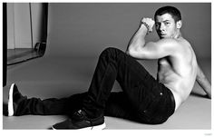 See More Images from Nick Jonas Flaunt Cover Shoot image Nick Jonas Flaunt 2014 Photo Shoot 006