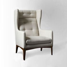 James Harrison Wing Chair – Fabric-remodelista