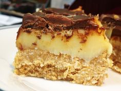 Gluten Free Chocolate Caramel Slice