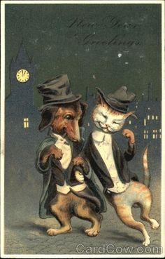 Мы такие же, как вы! (старинные открытки). Обсуждение на LiveInternet - Российский Сервис Онлайн-Дневников
