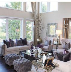 55 elegant living room decor colour schemes 53 - Home Accents living room Living Room Decor Colors, Glam Living Room, Elegant Living Room, Living Room Paint, Living Room Interior, Living Room Designs, Living Rooms, Elegant Home Decor, Decor Room