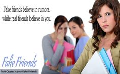 True Quotes about Fake Friends
