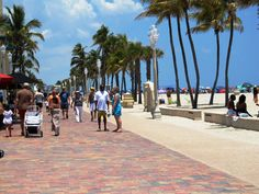 Hollywood Beach Florida Spent So Many Sunday Mornings Eating Breakfast On The Boardwalk