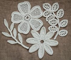 Pattern irishcrochetlab