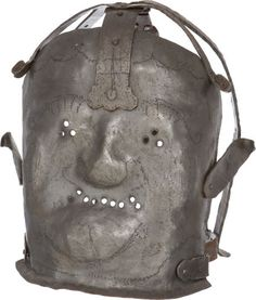 17th-Century Insanity Mask.