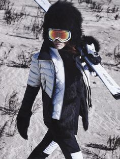 Vogue Korea, 2015 Hwang by Young Jun Kim Snow Fashion, Winter Fashion, Fashion Women, S Ki Photo, Sport Editorial, Ski Bunnies, Ski Season, Ski Wear, Vogue Korea
