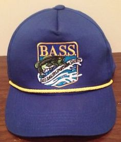 Up for purchase is a Vintage BASS Snapback.  Material: 100% Cotton  Made In: Bangladesh  Made By: BASS  Condition: Great Condition. Minor stain on front of hat. Very unnoticeable. It's in the pictures.  #BASS #Fishing #Summer #BassFishing #VintageSnapback #Ebay #Spring #Kids #Doityourself