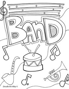 Free and fun elements of music coloring pages and printables at Classroom Doodles from Doodle Art Alley Dance Coloring Pages, Colouring Pages, Printable Coloring Pages, Coloring Sheets, Adult Coloring, Coloring Books, Kids Colouring, Coloring Stuff, School Binder Covers