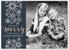 Marvelous Snowfall 5x7 Stationery Card by Petite Lemon
