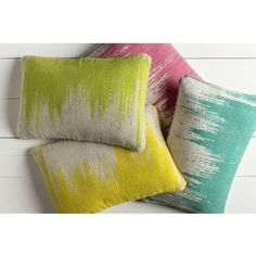 Shop for Decorative Hana Poly or Down Filled Throw Pillow (22 X 14) and more for everyday discount prices at Overstock.com - Your Online Home Decor Store!