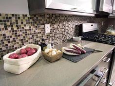 Browse kitchen countertop pictures from HGTV Remodels to see quartz countertop ideas.