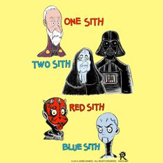 One Sith, 2 Sith, Red Sith, Blue Sith Finally done correctly, in Seuss Style and with Asajj Ventress as the Blue Sith.  I love it and hope you do too.   #drSeuss #StarWars #SeussWars #RamosArt #childrensbookIllustration #sith #asajjVentress #apprentice #theForce #darthVader #DarthSidious #DarthTyranus #darthMaul #countDooku #EmperorPalpatine #theEmpire #theEmperor #oneSith #twoSith #redSith #blueSith #onefish #twoFish #RedFish #BlueFish