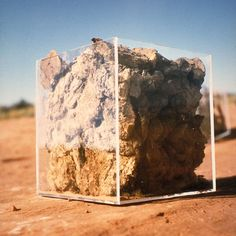 Anne-Katrin Spiess - Elements / Cow Dung Utah 2000