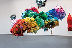 Mike Kelley's 'Deodorized Central Mass With Satellites' (1991–99). Photo: Joshua White/Courtesy of Perry Rubenstein Gallery, Los Angeles. © Estate of Mike Kelley.