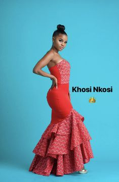 African Lace Dresses, African Wedding Dress, African Fashion Dresses, Wedding Dresses, Traditional Wedding Cake, Traditional Dresses, Seshweshwe Dresses, Cool Outfits, Casual Outfits
